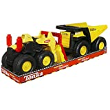Tonka Toughest Mighty, Trucks Rugged Dump Truck and Loader Toy