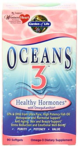 Garden of Life océans 3 Hormone sain, 90 Gels douces