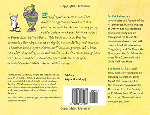 Free Editing Worksheets Word The Mouse The Monster And Me Assertiveness For Young People Pat  Cell Division And Mitosis Worksheet Answers with Subtracting Mixed Numbers With Regrouping Worksheets Word The Mouse The Monster And Me Assertiveness For Young People Pat Palmer  Edd Sue Rama  Amazoncom Books Super Teacher Worksheets Maths Grade 4 Excel