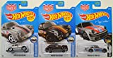 Hot Wheels Urban Outlaw Magnus Walker 3 car Porsche set! Includes Silver and Black Outlaw 356A and Silver 934 Turbo RSR!