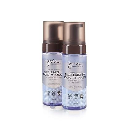 Join - Agua micelar desmaquillante 3 en 1 con bayas de açaí y extracto de olivas