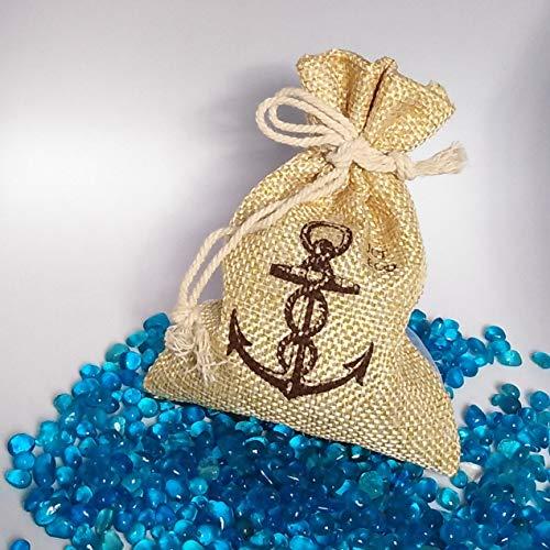 1/2 Lb Royal Blue Glass Beads Sand, for Weddings, Vase Filler, Home D