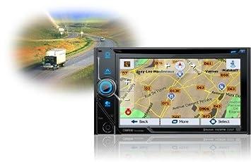 Clarion nx405ec dvd radio de coche multimedia, 2 din Navegador GPS con mapas de camiones caravana: Amazon.es: Coche y moto