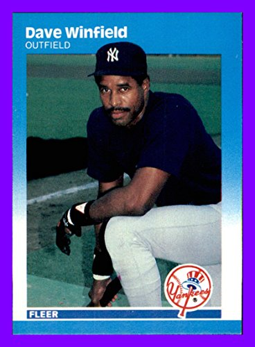 (1987 Fleer #120 Dave Winfield NEW YORK YANKEES)