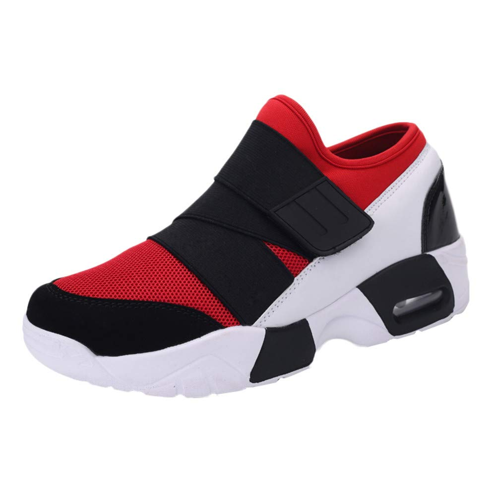 Caopixx Shoes for Men Casual Tennis Running Shoes Lightweight Breathable Sneakers Soft