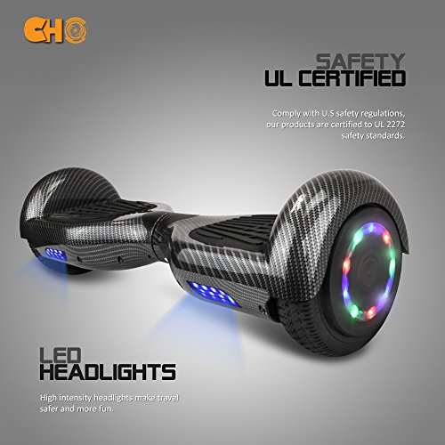 CHO-65-inch-Wheels-Electric-Smart-Self-Balancing-Scooter-Hoverboard-with-Speaker-LED-Light-UL2272-Certified