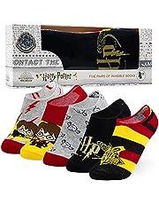 Harry Potter Onzichtbare sokken, No Show Sokken, 5 paar, Harry Potter Gifts