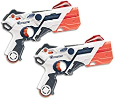 Nerf - Laser Ops - Electronic AlphaPoint Blaster 2 Pack - The Ultimate Laser Game - Blasters, Armbands & Instructions - Ages 10+