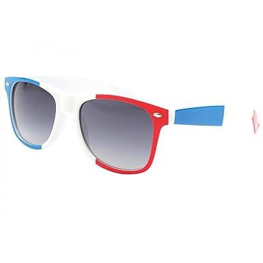 Eye Wear Lunettes de soleil France Bleu Blanc Rouge - Mixte  Amazon ... 281c730c9da7