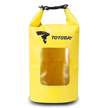edda91ecd7 Sac Etanche TOTOBAY Sac/Poche Imperméable Dry Bag Nautique Sac A Dos  Etanche Sac Decathlon