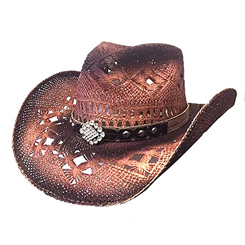 Bullhide Magnificent - Straw Cowgirl Hat (Small)