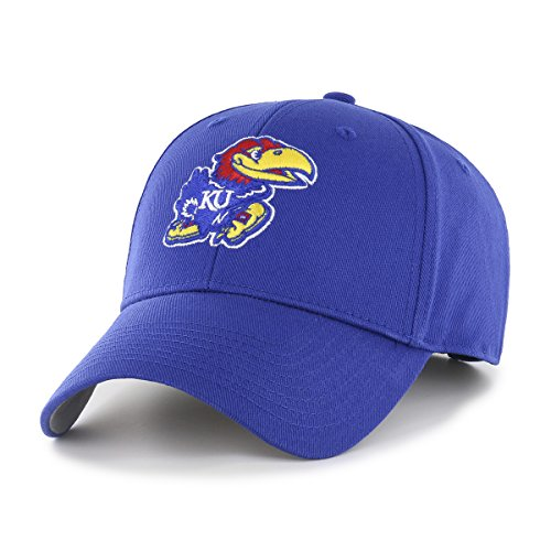 - NCAA Kansas Jayhawks NCAA OTS All-Star Adjustable Hat, Team Color, One Size