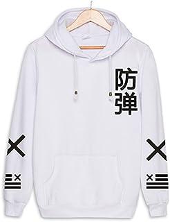 Kpop Hoodies Bangtan Boys BTS JIN SUGA JIMIN V Unisex Fleece Sweatshirts XMAMU