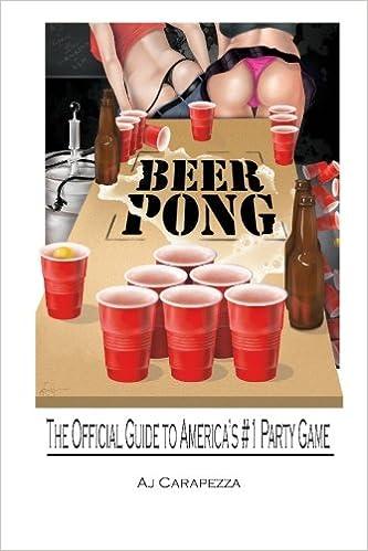 Beer Pong Amazonde Aj Carapezza Fremdsprachige Bucher