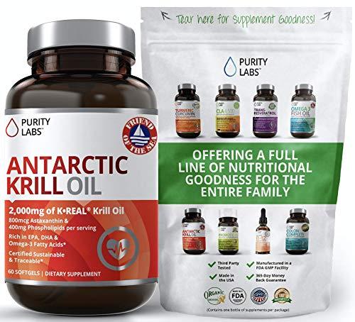Antarctic Krill Oil Supplement.