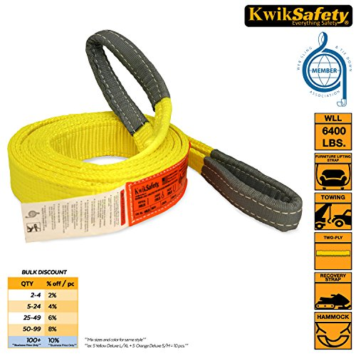 "Lift Kites (KwikSafety 2""x20' Industrial Web Sling 