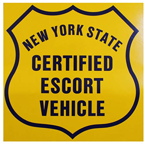 NYS Certified Escort Vehicle Magnet's for Pilot Car. 1 Pair 2 Each