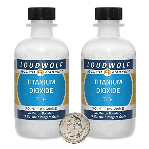 Titanium Dioxide   Fine Powder   6 Ounces   99 9  Pure   Ships Fast From Usa