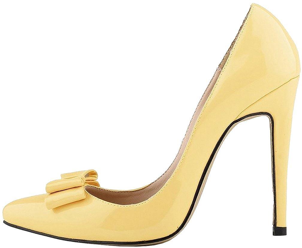 Calaier Damen Cahard 11CM Stiletto Schlüpfen Pumps Schuhe
