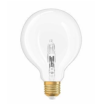 Vintage Forme 20w À E27 Blanc Chaud 1906 Dimmable Osram Transparent Ampoule Globe Edition Culot 2700k Halogène Filament lFJcTK1