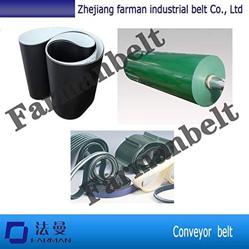 Fevas 3m Jointed Belt Toothed Open Ended Polyurethane Driving Belt PVC//Pu Conveyor Belt