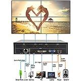 LINK-MI TV04M 2x2 Video Wall Controller USB+HDMI+DVI+VGA+AV TV HDMI With Fully-digital Processing Channel Inside 180 Degree Rotate