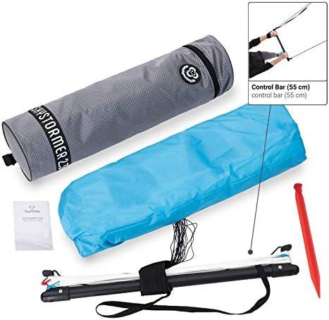 Skymonkey, Skystormer, power kit a 2 cordecon manubrio incluso, pronto per il volo, apertura alare di 180 cm o 230 cm