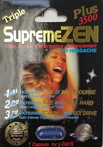 Supreme Zen Plus 3500mg Male Sexual Performance Enhancement 100% Authentic (1)