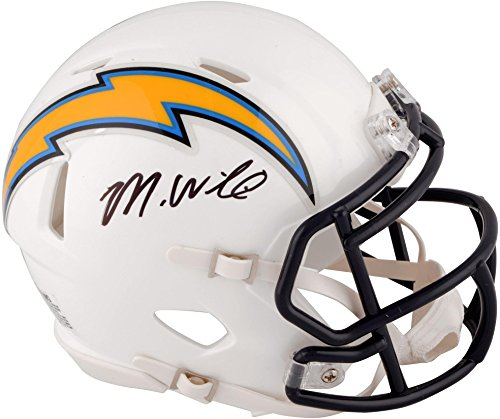 Mike Williams Los Angeles Chargers Autographed Riddell Speed Mini Helmet - Fanatics Authentic Certified