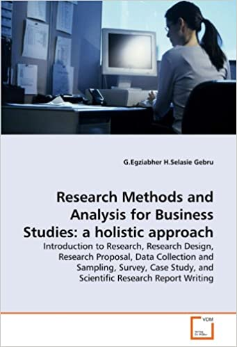 Research Methods and Analysis for Business Studies: a holistic