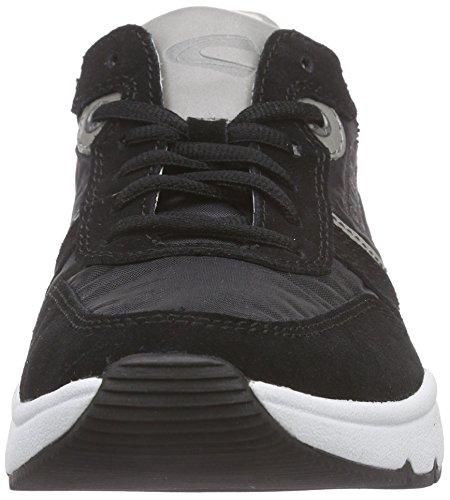 camel active Rush 12, Men's Low-Top Sneakers Black (Black/Ice)