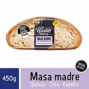 The Rustik Bakery - Hogaza masa madre, quinoa, chia y espelta, 450 ...