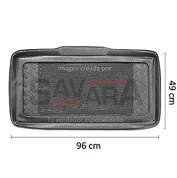 Protector de maletero específico para Fiat 500 (2007-) - Antiderrames, antideslizante,