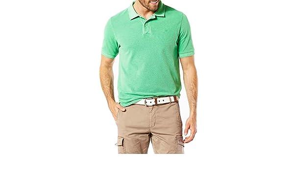 Dockers Polo Garment Verde S Verde: Amazon.es: Ropa y accesorios