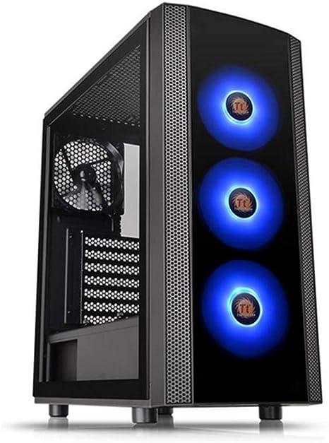 Thermaltake Versa J25 TG RGB - Caja Gaming para PC, Color Negro: Thermaltake: Amazon.es: Informática