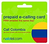Prepaid Phone Card - Cheap International E-Calling Card $10 for Colombia with same day emailed PIN, no postage necessary