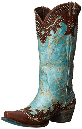 Lane Boots Women's Stephanie Western Boot - Turquoise - 5...