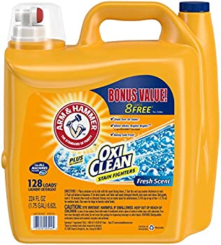 3-Pack of 128 Loads Arm & Hammer Laundry Detergent Plus Oxiclean