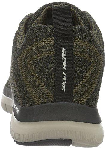 Skechers Sport Menns Flex Fordel 2,0 Sneaker Oliven