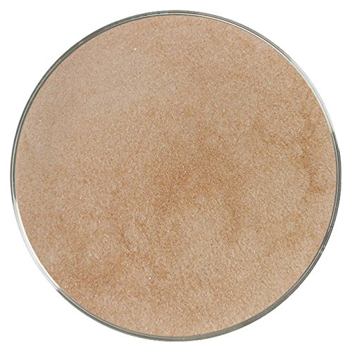 Chestnut Brown Opalescent Powder Frit - 96COE - 4oz - Made from System 96 Glass