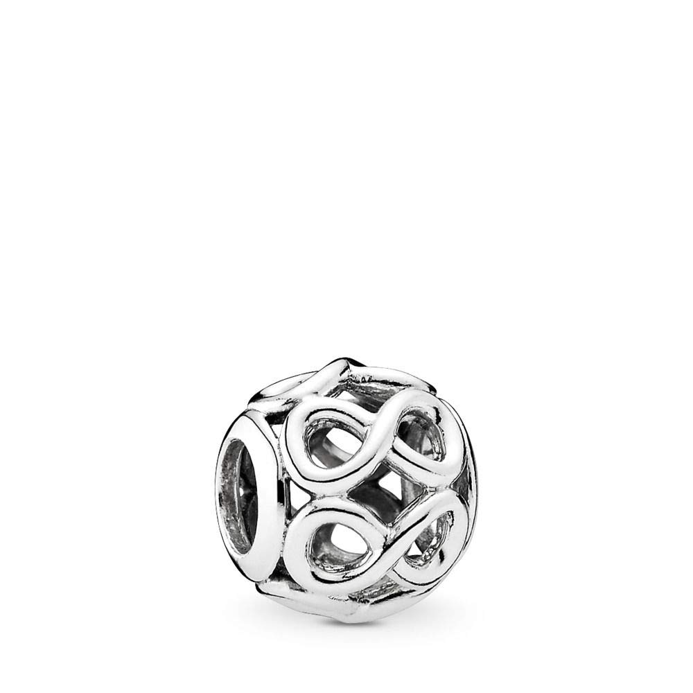 PANDORA Infinite Shine Charm, Sterling Silver, One Size by PANDORA