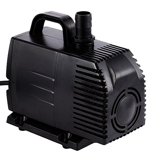 Simple Deluxe 1056 GPH UL Listed Submersible Pump with 15' Cord, Water Pump for Fish Tank, Hydroponics, Aquaponics, Fountains, Ponds, Statuary, Aquariums & Inline (Pond Pump)