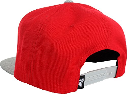 Famous Stars and Straps Men's Official Boh 2 Tone Hat, Red/Heather Grey, One Size