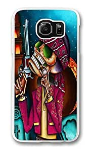Clavo Art Polycarbonate Hard Case Cover for Samsung S6/Samsung Galaxy S6 Transparent