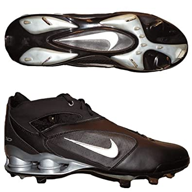 premium selection f2f21 a51c1 NIKE AROD SHOX Mens Metal Baseball Cleats (14, Black Black)
