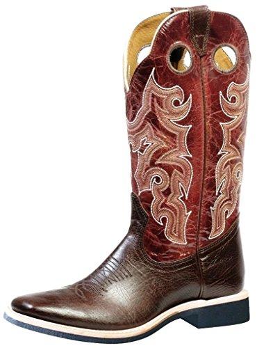 Bottes américaines - bottes de cowboy extra-légères BO-4747-65-E (pied normal) - Homme -