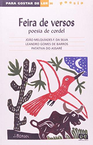 Feira de Versos. Poesia de Cordel - Volume 36. Coleção Para Gostar de Ler