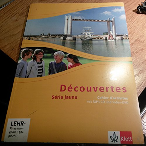 Price comparison product image Découvertes / Cahier d'activités mit MP3-CD und Video-DVD