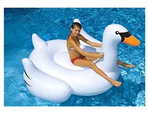 Swimline 90621 -  Ride on White Swan