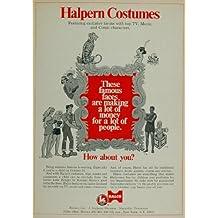 1970 Ad Halloween Costumes Halco Lone Ranger Li'l Abner - Original Print Ad